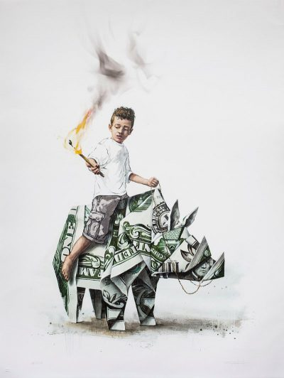 Splash and Burn by Ernest Zacharevic