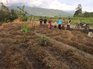 Farmers in Gayo Lues, Sumatra learning about permaculture